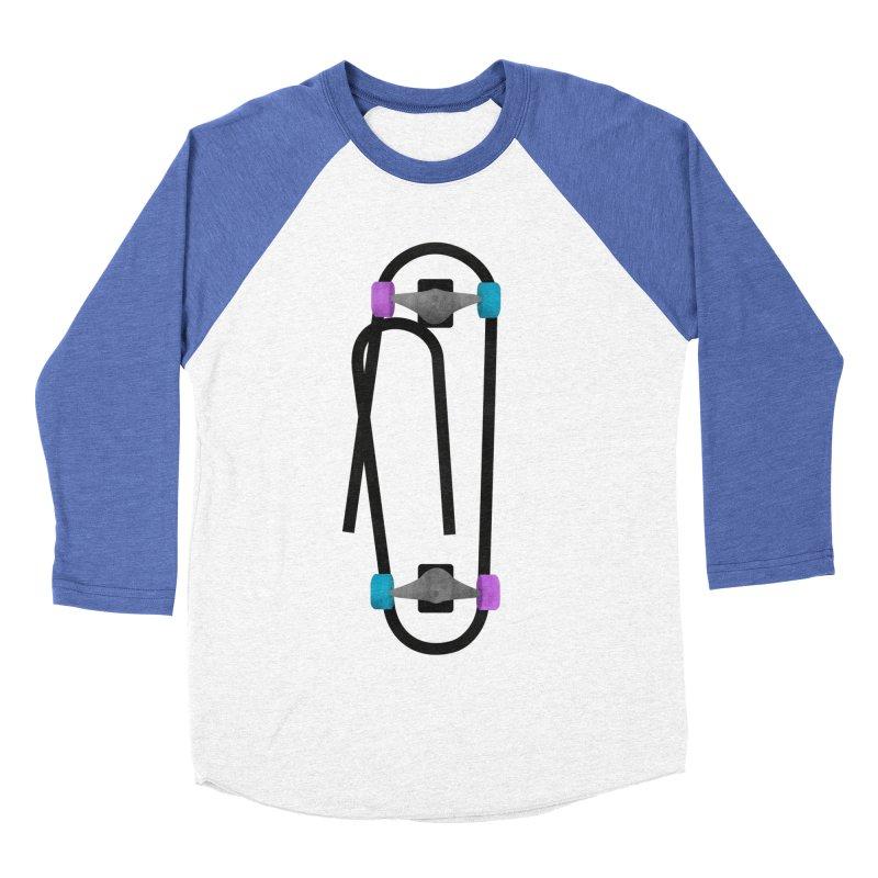 Clipboard Men's Baseball Triblend Longsleeve T-Shirt by chevsy's Artist Shop