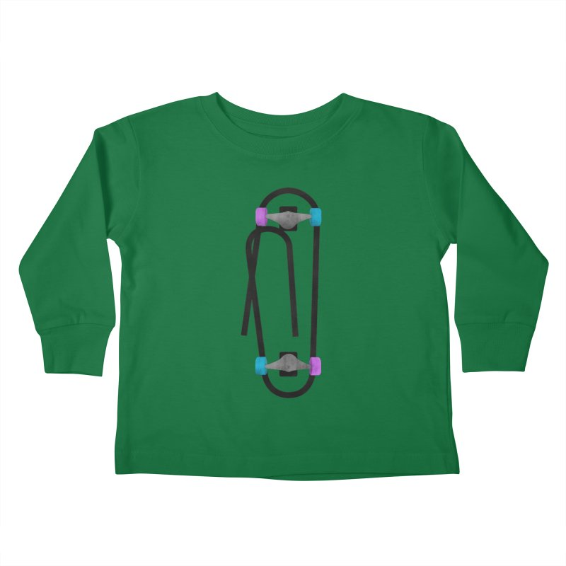 Clipboard Kids Toddler Longsleeve T-Shirt by chevsy's Artist Shop