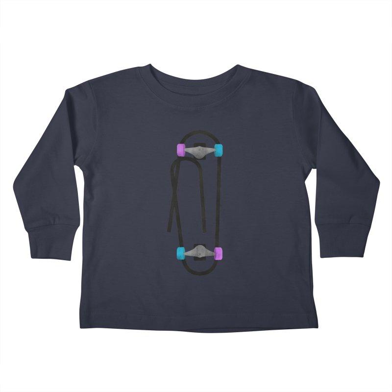 Clipboard Kids Toddler Longsleeve T-Shirt by chevsy's Artist Shop