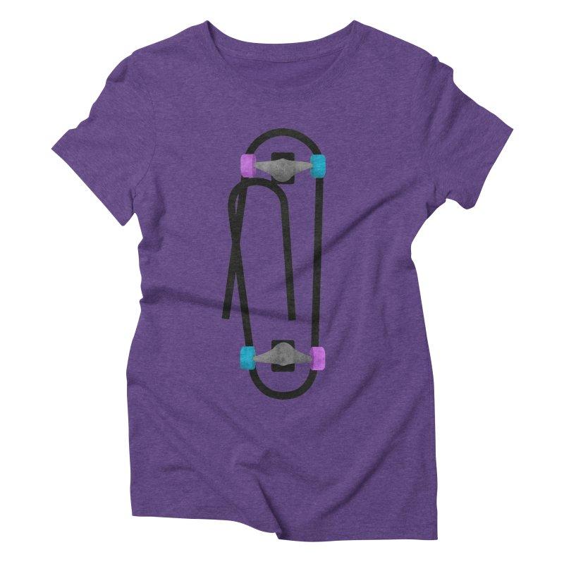 Clipboard Women's Triblend T-Shirt by chevsy's Artist Shop