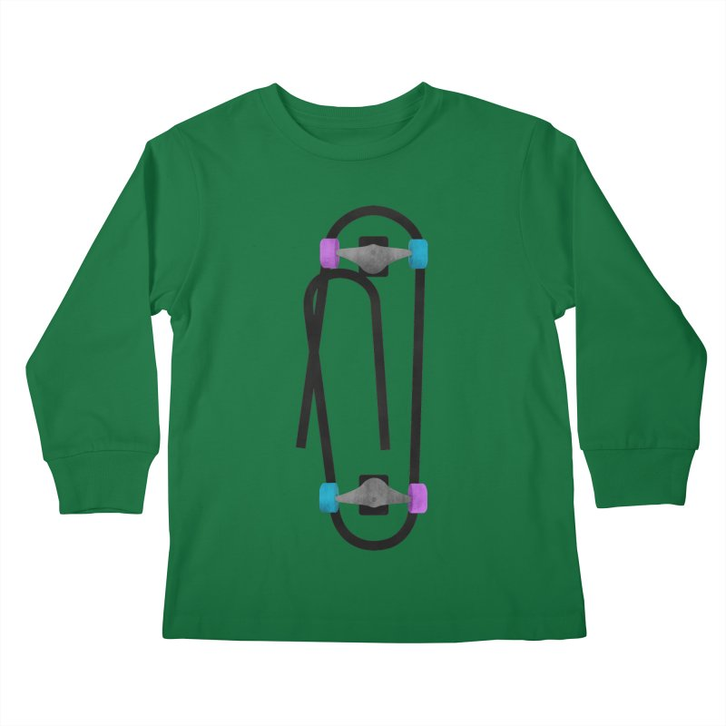 Clipboard Kids Longsleeve T-Shirt by chevsy's Artist Shop