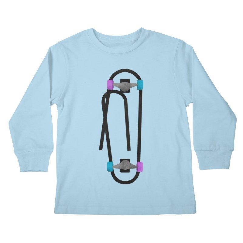 Clipboard Kids Longsleeve T-Shirt by chevsy's Artist Shop