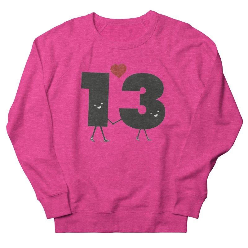 Lucky in Love Women's Sweatshirt by chevsy's Artist Shop