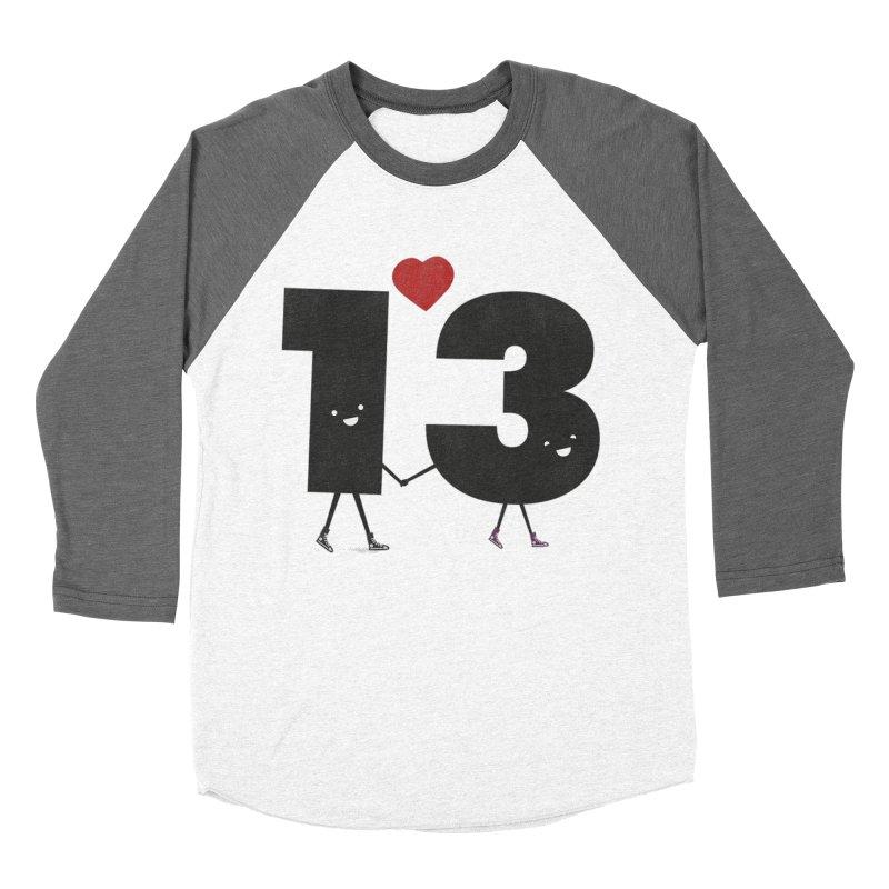 Lucky in Love Women's Baseball Triblend Longsleeve T-Shirt by chevsy's Artist Shop
