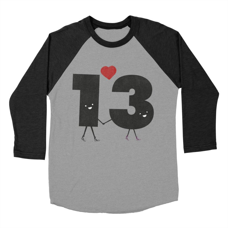 Lucky in Love Men's Baseball Triblend Longsleeve T-Shirt by chevsy's Artist Shop