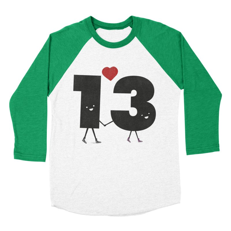 Lucky in Love Men's Baseball Triblend Longsleeve T-Shirt by chevsy's Artist Shop
