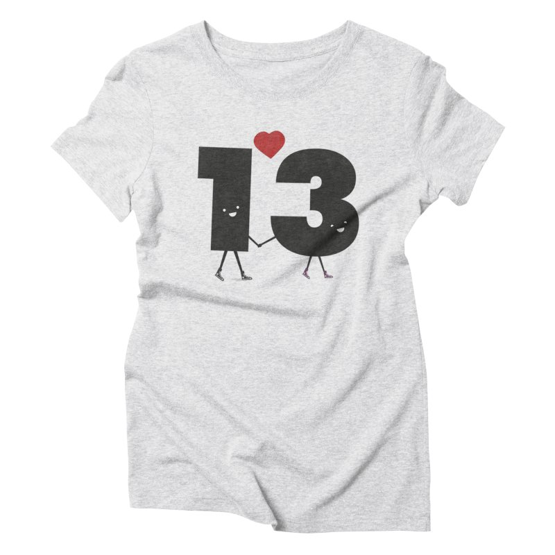 Lucky in Love Women's T-Shirt by chevsy's Artist Shop