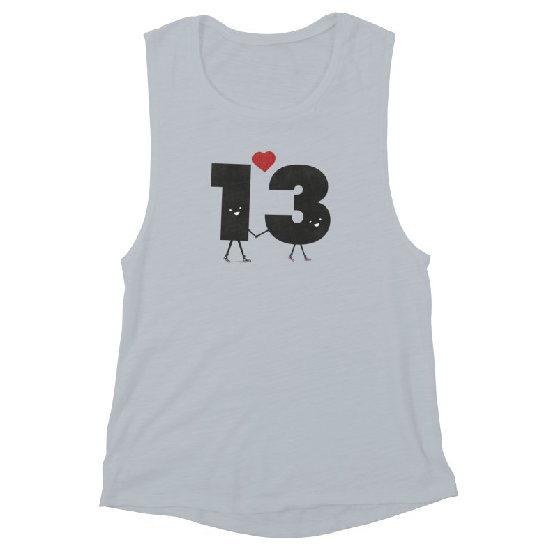Lucky in Love Women's Muscle Tank by chevsy's Artist Shop