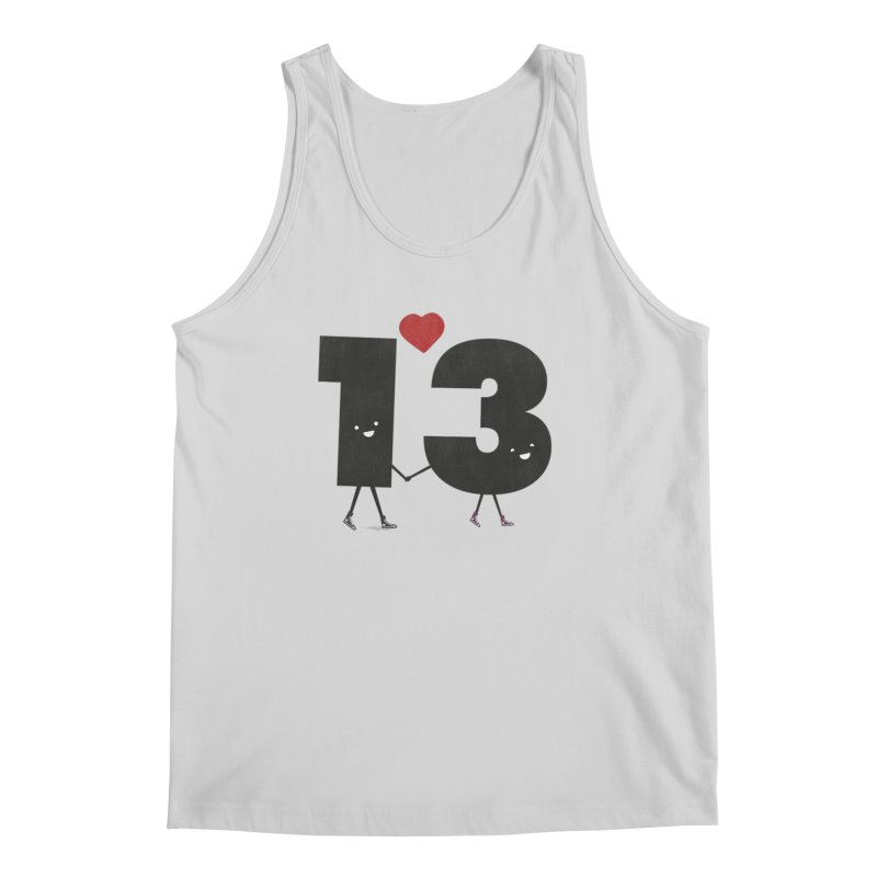 Lucky in Love Men's Regular Tank by chevsy's Artist Shop
