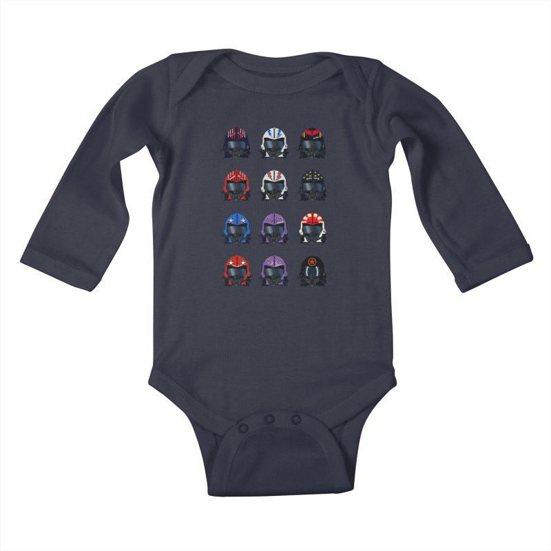The Best of the Best Kids Baby Longsleeve Bodysuit by chevsy's Artist Shop