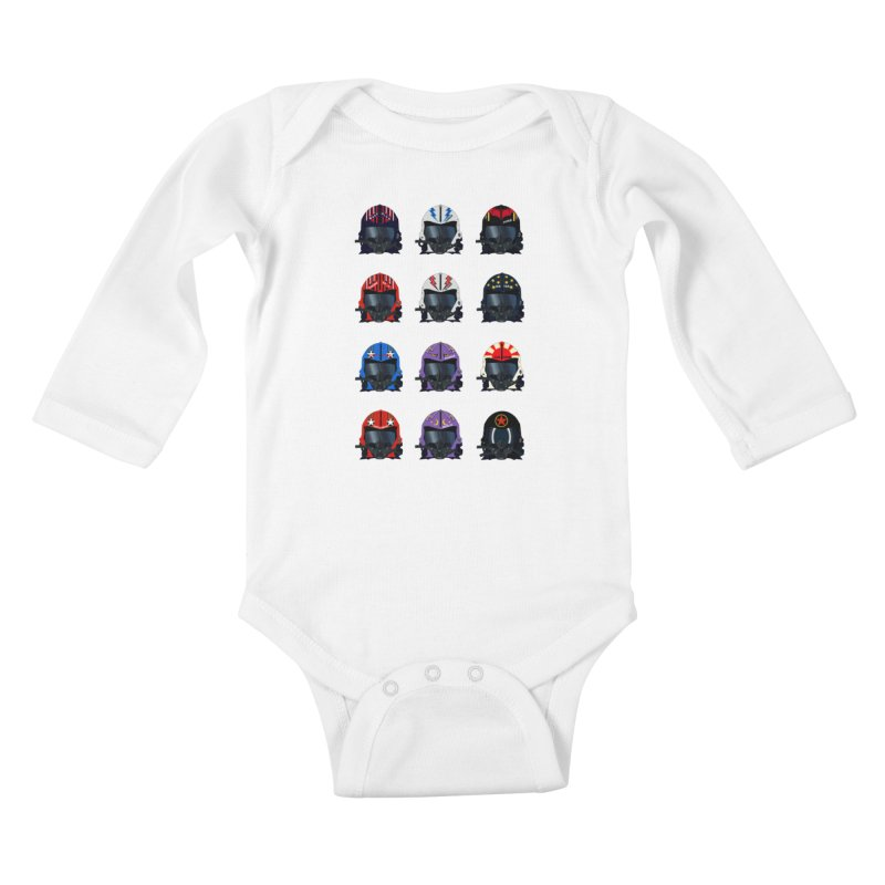 The Best of the Best Kids Baby Longsleeve Bodysuit by chevsy's Artist Shop