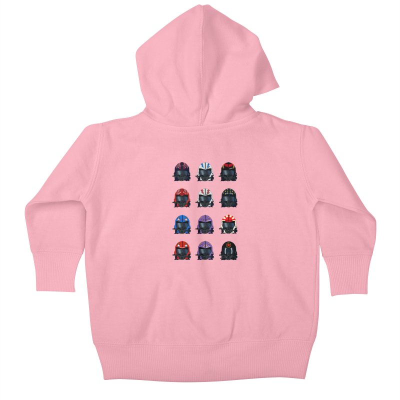 The Best of the Best Kids Baby Zip-Up Hoody by chevsy's Artist Shop