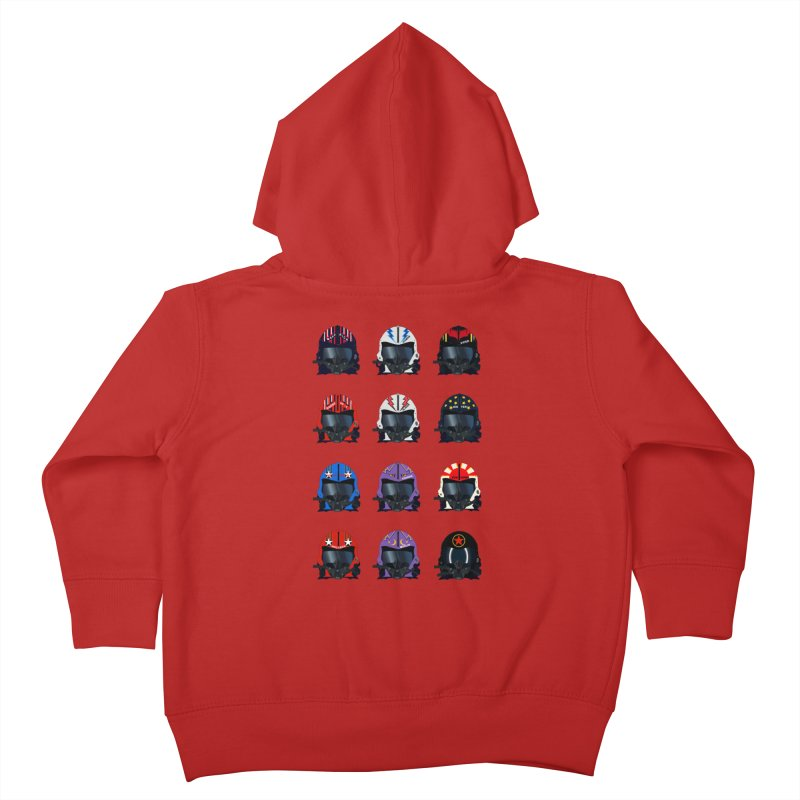 The Best of the Best Kids Toddler Zip-Up Hoody by chevsy's Artist Shop