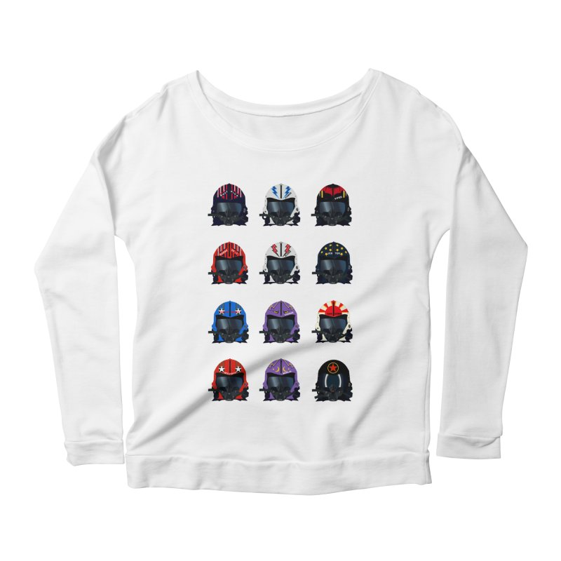 The Best of the Best Women's Longsleeve Scoopneck  by chevsy's Artist Shop