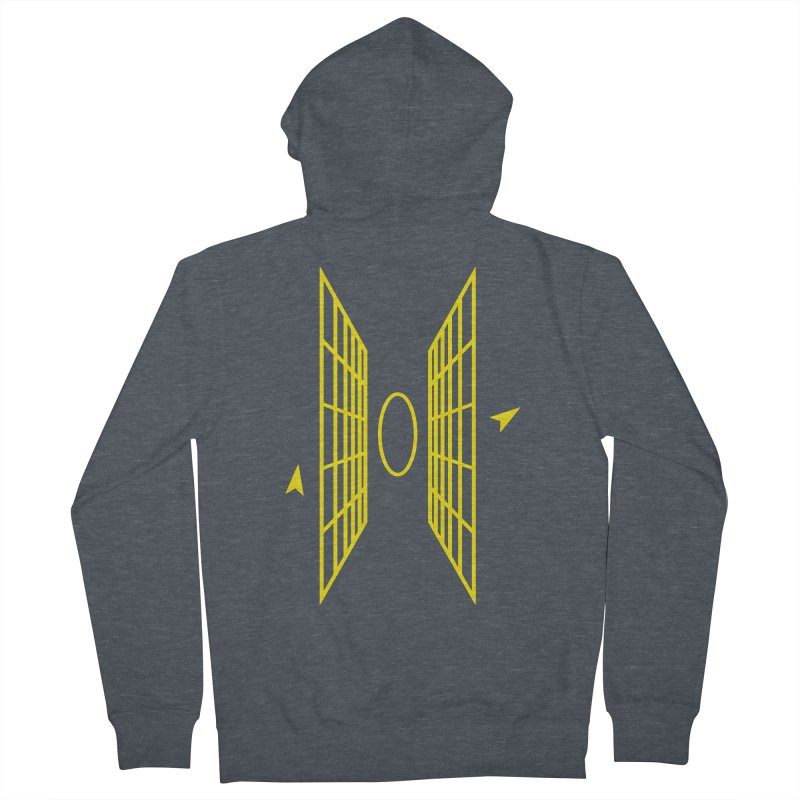 In My Sights Men's French Terry Zip-Up Hoody by chevsy's Artist Shop