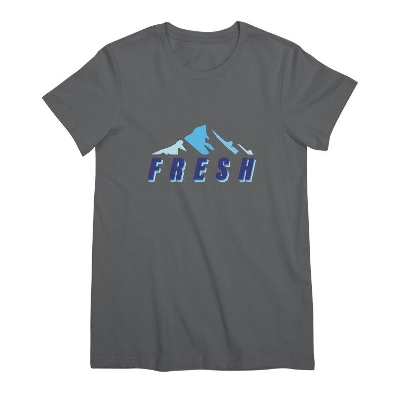 A BREATH OF FRESH AIR Women's T-Shirt by chevsy's Artist Shop