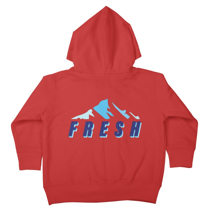 A BREATH OF FRESH AIR Kids Toddler Zip-Up Hoody by chevsy's Artist Shop