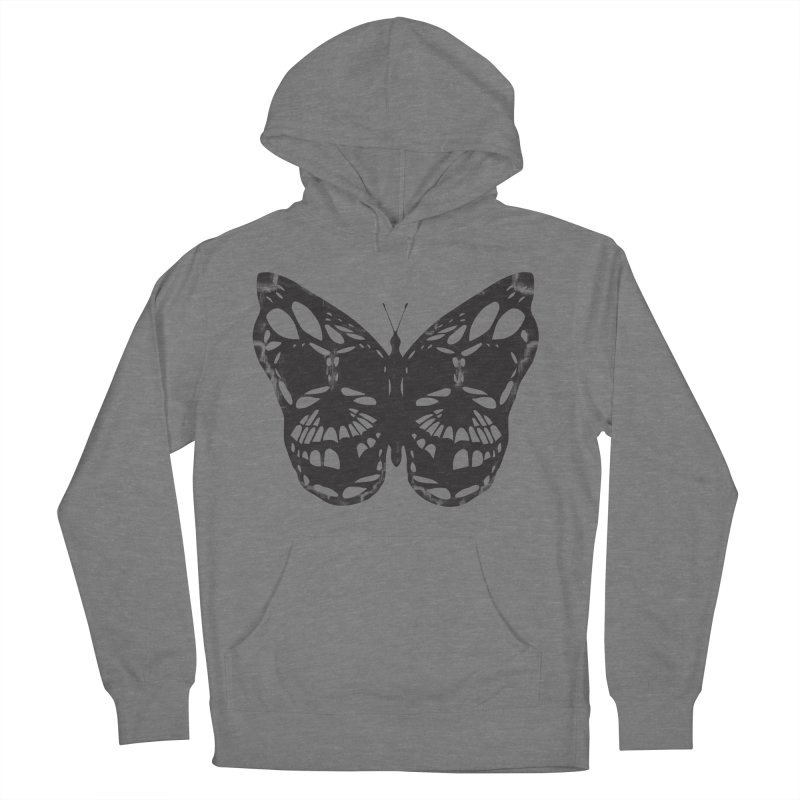 Butterfly of Death Women's French Terry Pullover Hoody by chevsy's Artist Shop