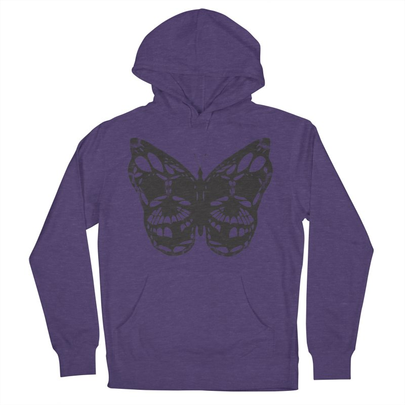 Butterfly of Death Men's Pullover Hoody by chevsy's Artist Shop