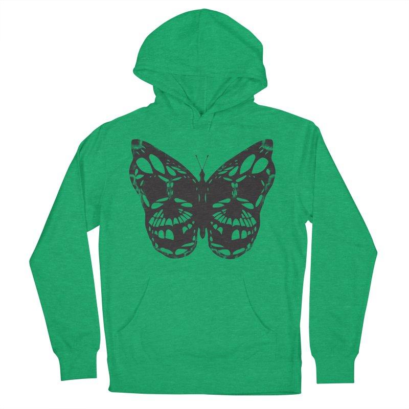 Butterfly of Death Men's Pullover Hoody by chevsy's Artist Shop