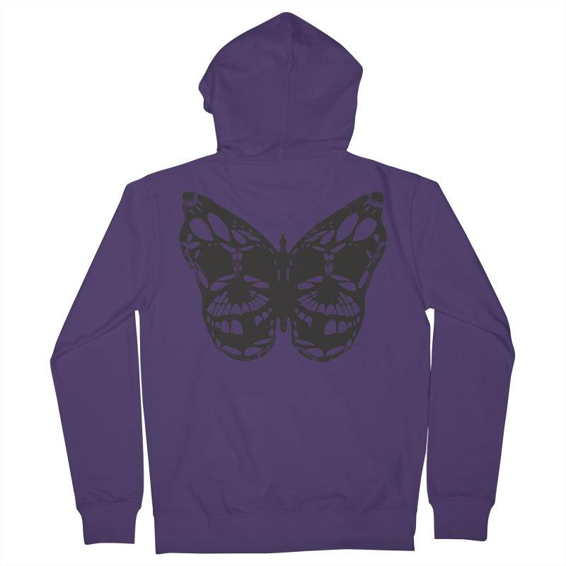Butterfly of Death Women's Zip-Up Hoody by chevsy's Artist Shop