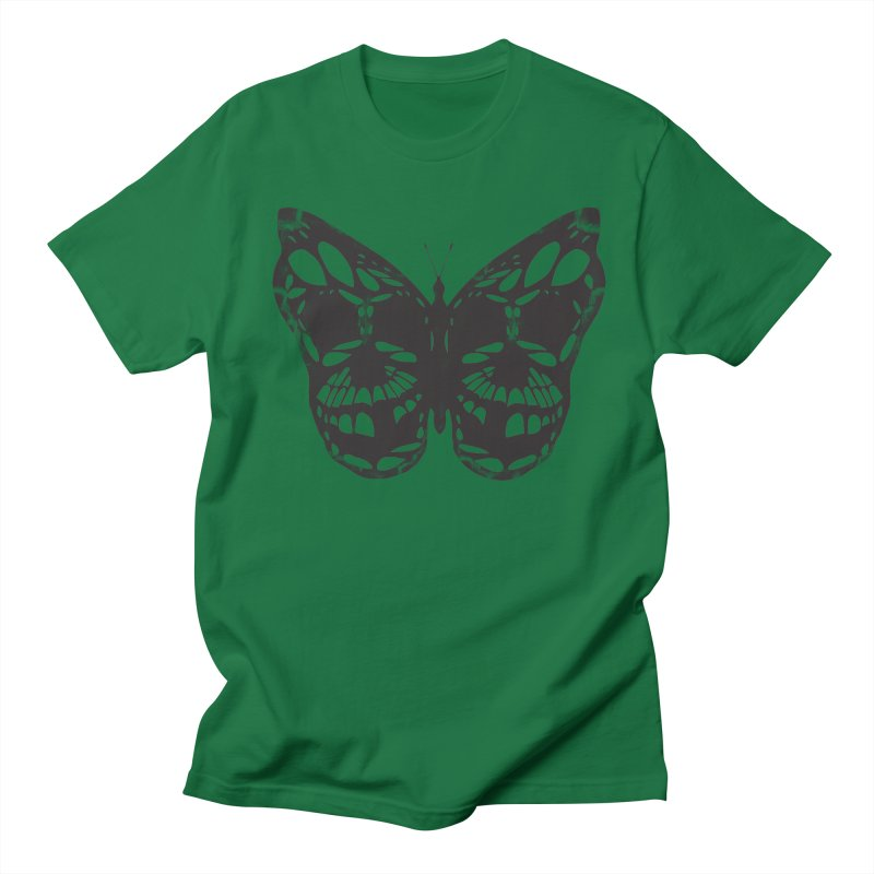 Butterfly of Death Men's Regular T-Shirt by chevsy's Artist Shop