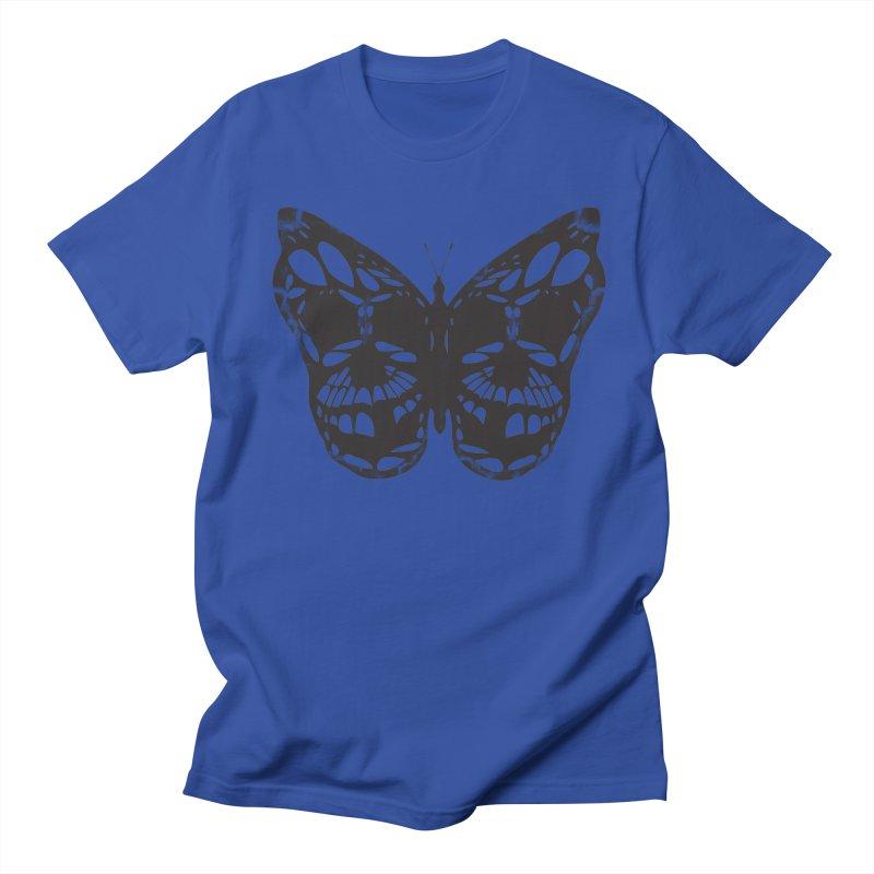 Butterfly of Death Men's T-Shirt by chevsy's Artist Shop