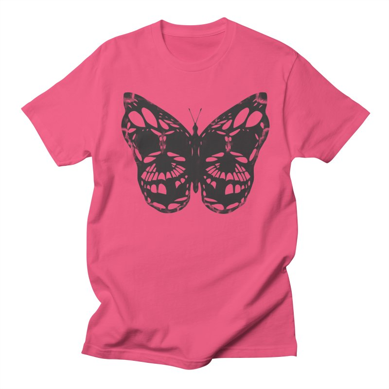 Butterfly of Death Men's T-shirt by chevsy's Artist Shop