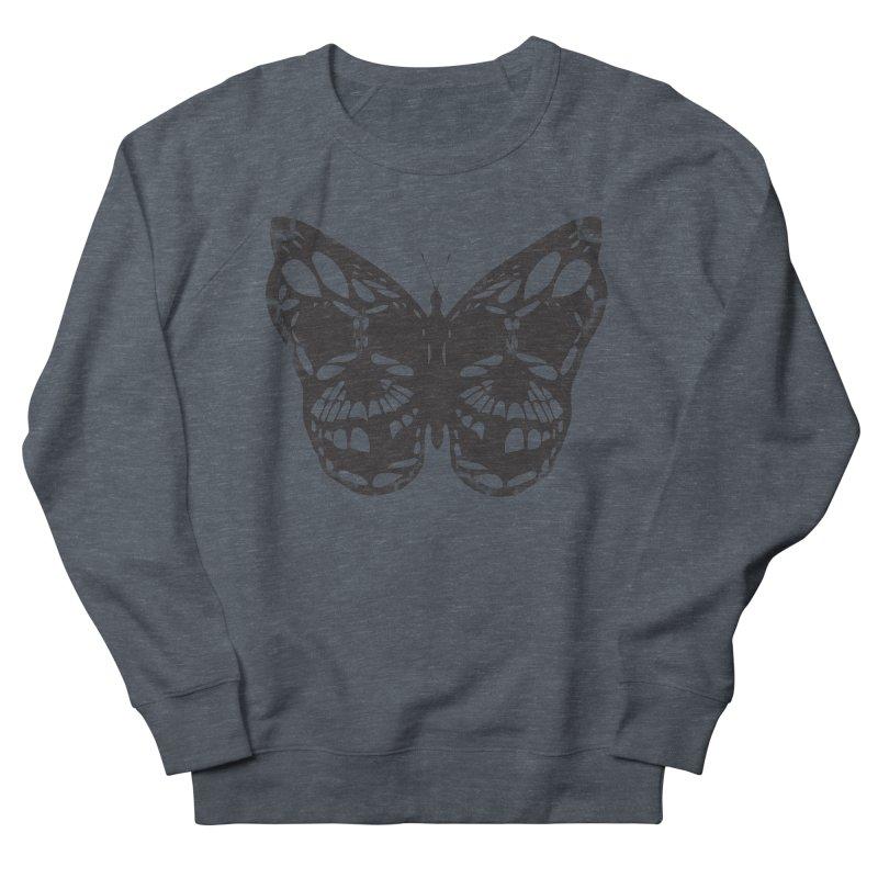 Butterfly of Death Men's Sweatshirt by chevsy's Artist Shop
