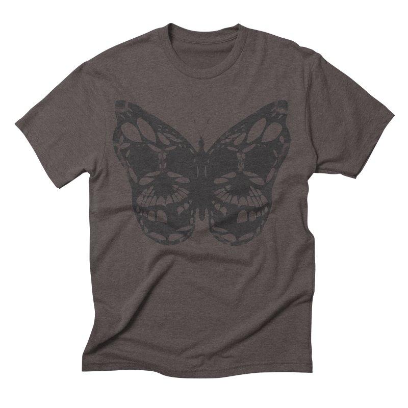 Butterfly of Death Men's Triblend T-shirt by chevsy's Artist Shop