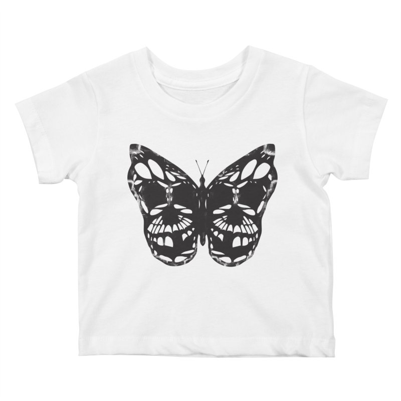 Butterfly of Death Kids Baby T-Shirt by chevsy's Artist Shop