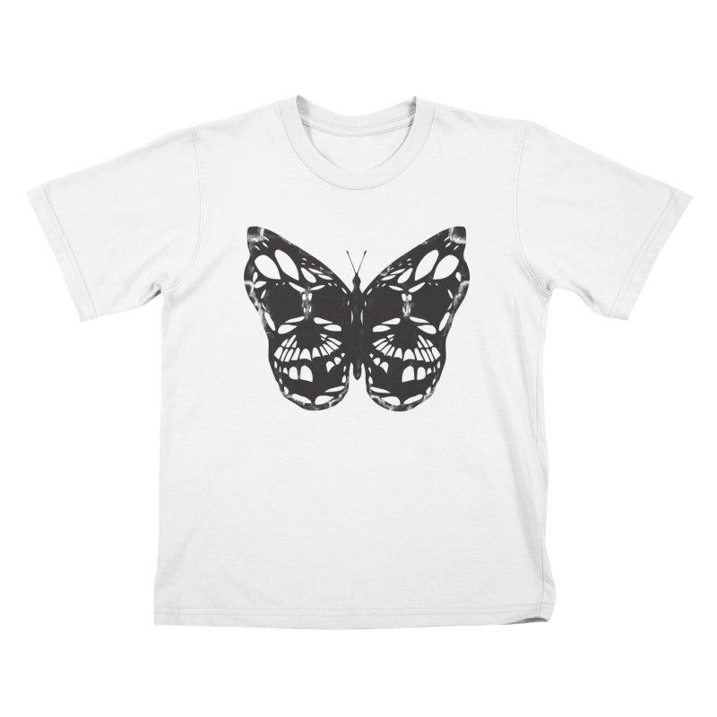 Butterfly of Death Kids T-Shirt by chevsy's Artist Shop