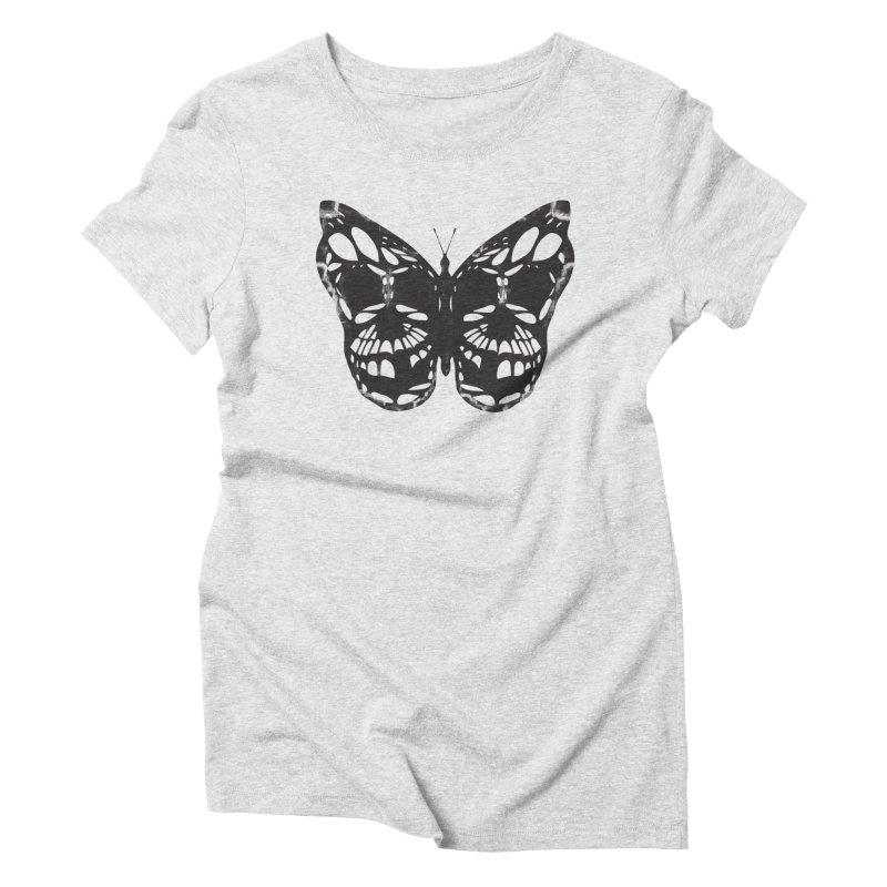 Butterfly of Death Women's T-Shirt by chevsy's Artist Shop