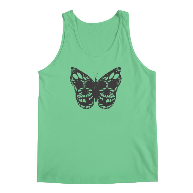 Butterfly of Death Men's Regular Tank by chevsy's Artist Shop