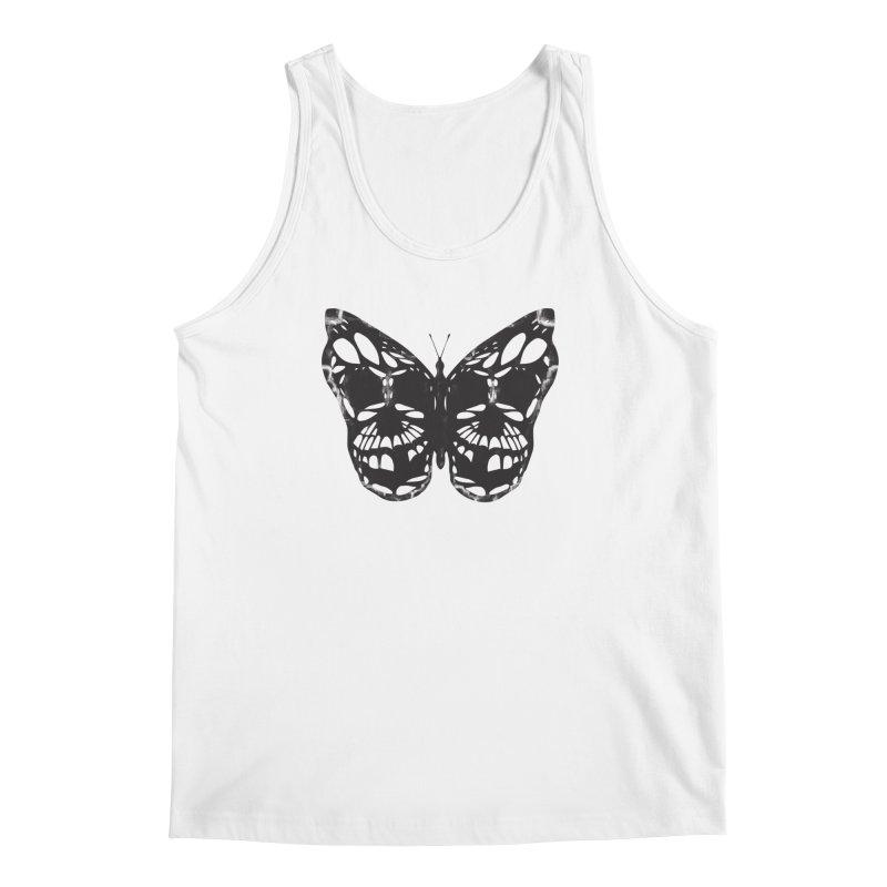 Butterfly of Death Men's Tank by chevsy's Artist Shop