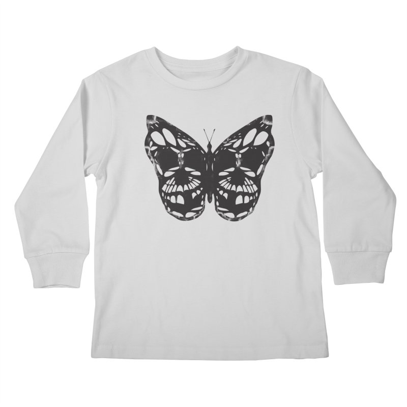 Butterfly of Death Kids Longsleeve T-Shirt by chevsy's Artist Shop