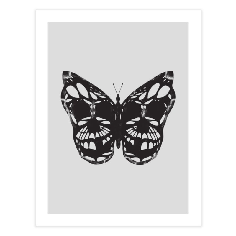 Butterfly of Death Home Fine Art Print by chevsy's Artist Shop