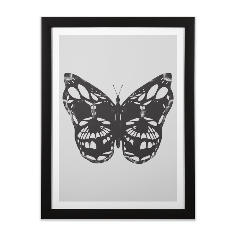 Butterfly of Death Home Framed Fine Art Print by chevsy's Artist Shop