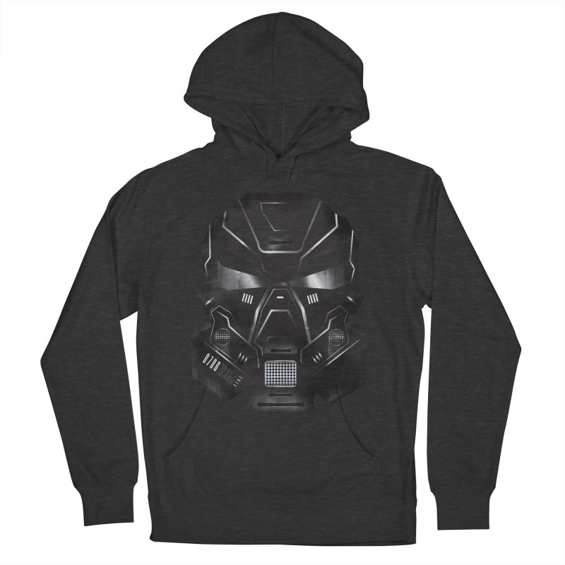 Black Metal Future Fighter Women's French Terry Pullover Hoody by chevsy's Artist Shop