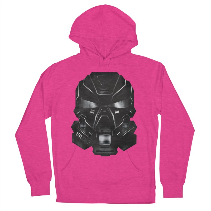 Black Metal Future Fighter Women's Pullover Hoody by chevsy's Artist Shop