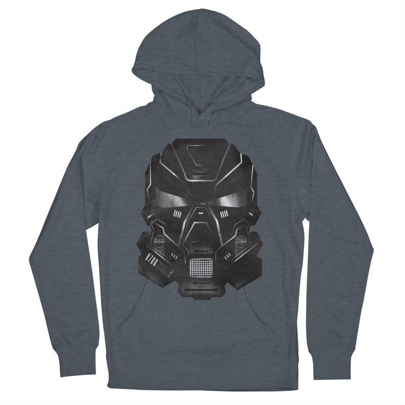 Black Metal Future Fighter Men's Pullover Hoody by chevsy's Artist Shop