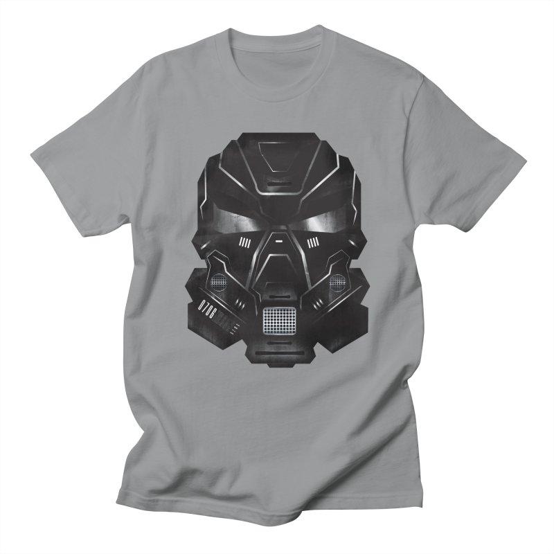 Black Metal Future Fighter Men's Regular T-Shirt by chevsy's Artist Shop