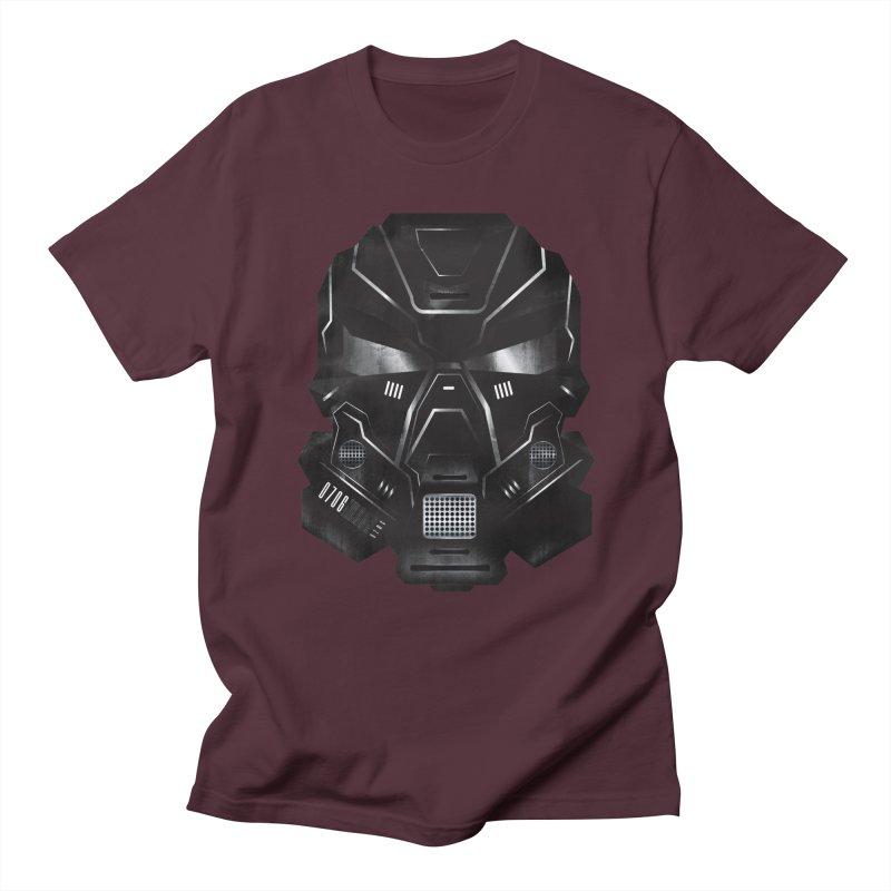 Black Metal Future Fighter Men's T-shirt by chevsy's Artist Shop