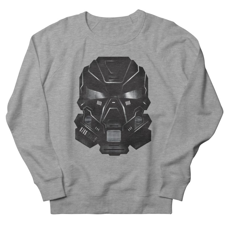 Black Metal Future Fighter Men's Sweatshirt by chevsy's Artist Shop