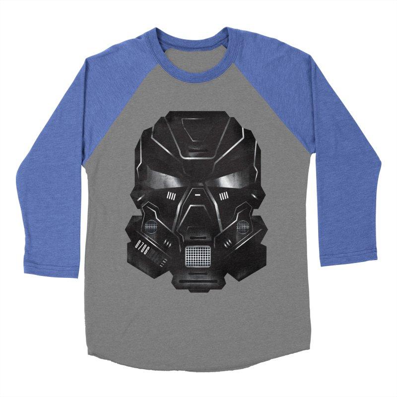Black Metal Future Fighter Women's Baseball Triblend T-Shirt by chevsy's Artist Shop