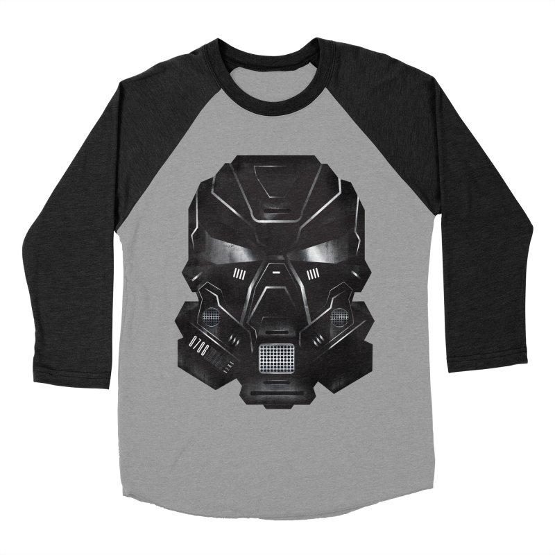Black Metal Future Fighter Men's Baseball Triblend T-Shirt by chevsy's Artist Shop