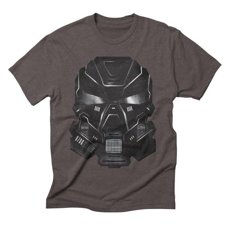 Black Metal Future Fighter Men's Triblend T-shirt by chevsy's Artist Shop