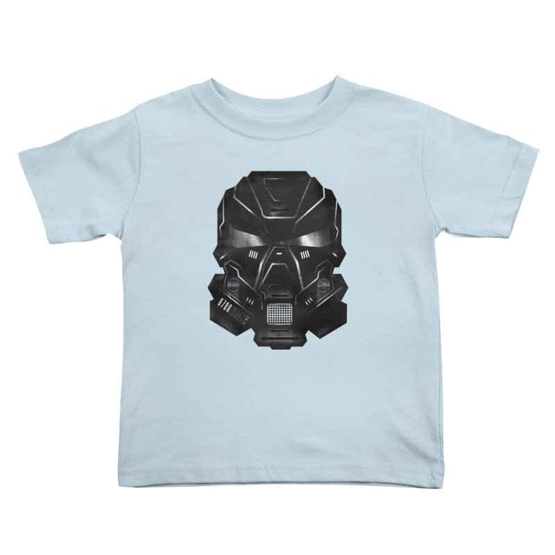Black Metal Future Fighter Kids Toddler T-Shirt by chevsy's Artist Shop