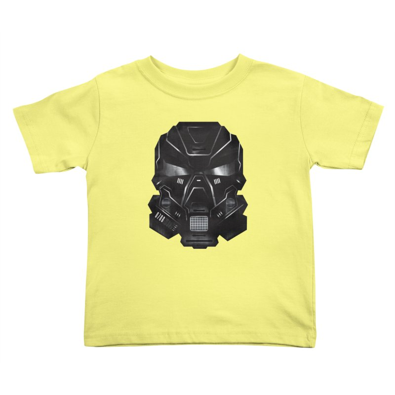 Black Metal Future Fighter Kids Toddler T-Shirt by chevsy's Artist Shop