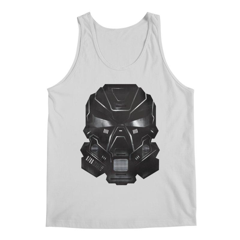 Black Metal Future Fighter Men's Regular Tank by chevsy's Artist Shop